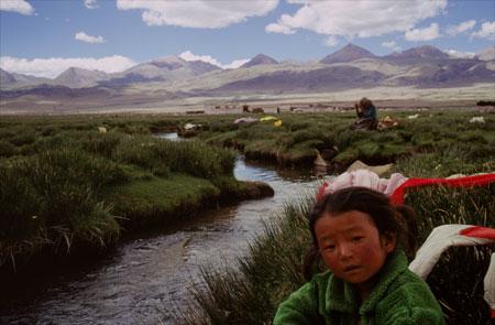 Foothills of Tibet