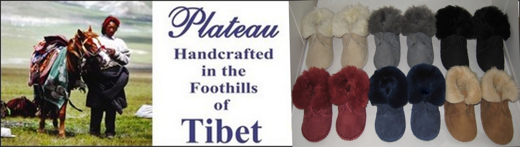 Plateau Handicrafted in the foothills of Tibet